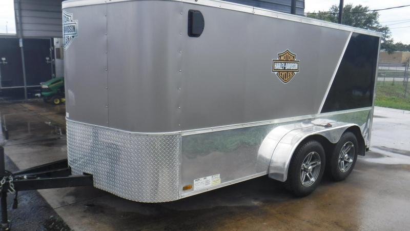 2014 Continental Cargo 7X12TA2 Motorcycle Trailer