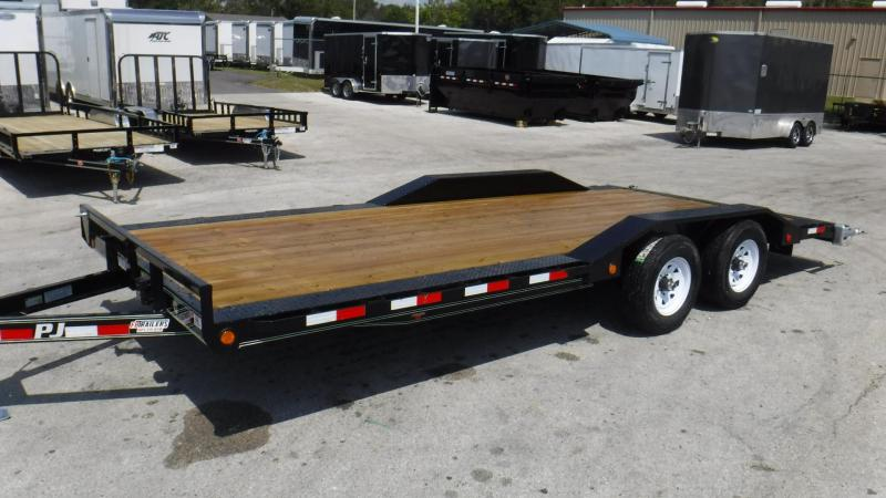 "2018 B5 20' x 5"" Channel Buggy Hauler Trailer by PJ Trailers"