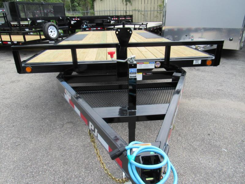 2020 PJ Trailers 16' Medium Duty Deckover Equipment Trailer