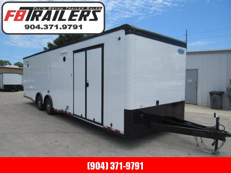 2020 Continental Cargo Black Out 30 ft Car / Racing Trailer