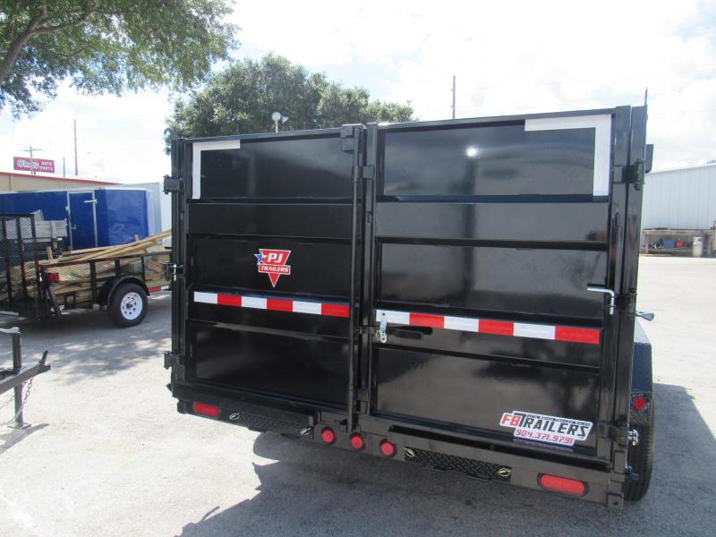 2020 PJ Trailers 14ft with 4ft High Sides Dump Trailer