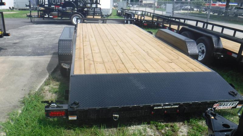 2018 18' Open Deck Car Hauler  by Sure Trac
