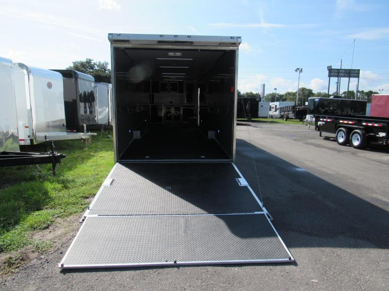 2019 Cargo Mate 34 Eliminator SS Car / Racing Trailer