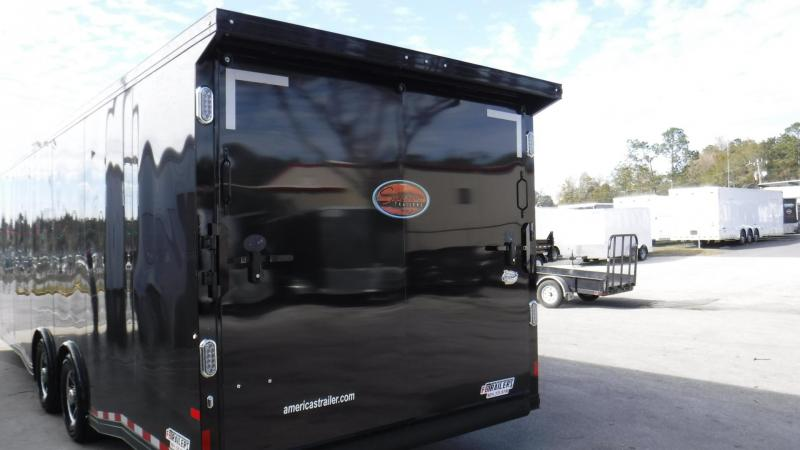 2018 8.5 x 30' Sundowner All Aluminum Black Out Race Trailer