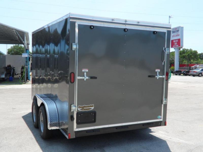 2017 7x12 NS Series Enclosed Cargo Trailer by Continental Cargo