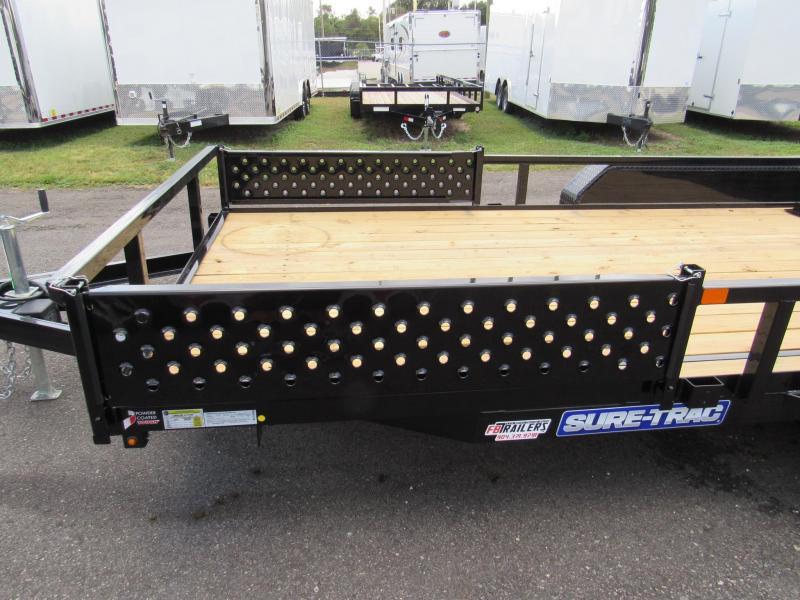 2019 Sure-Trac 7X16 ATV Sides Utility Trailer
