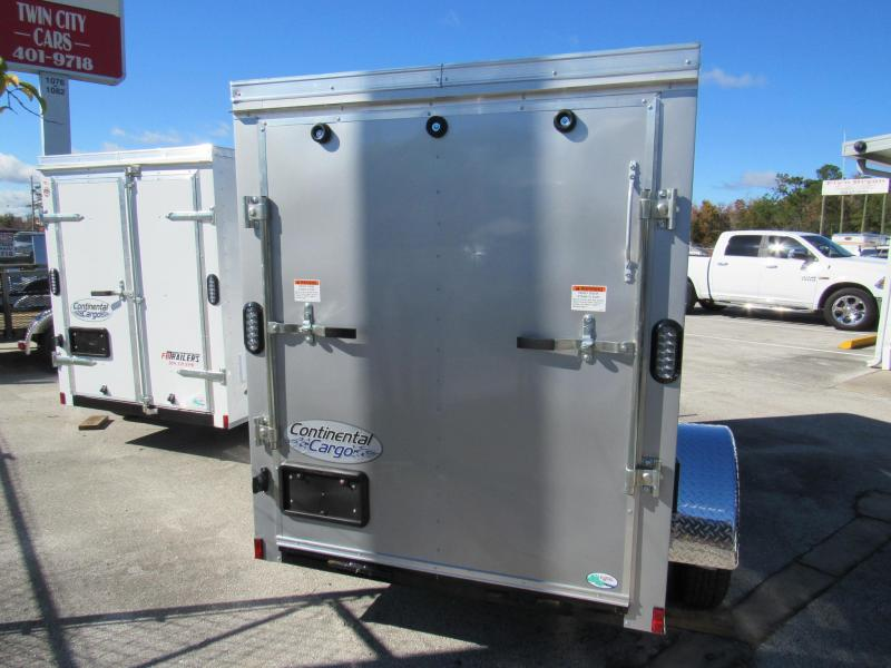 2019 Continental Cargo 5x8 Ramp Door Enclosed Cargo Trailer
