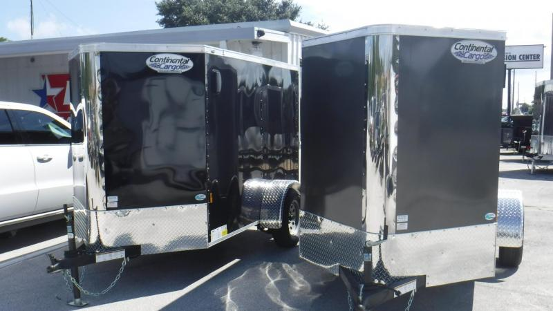 2018 5x8 Enclosed Cargo Trailer by Continental Cargo