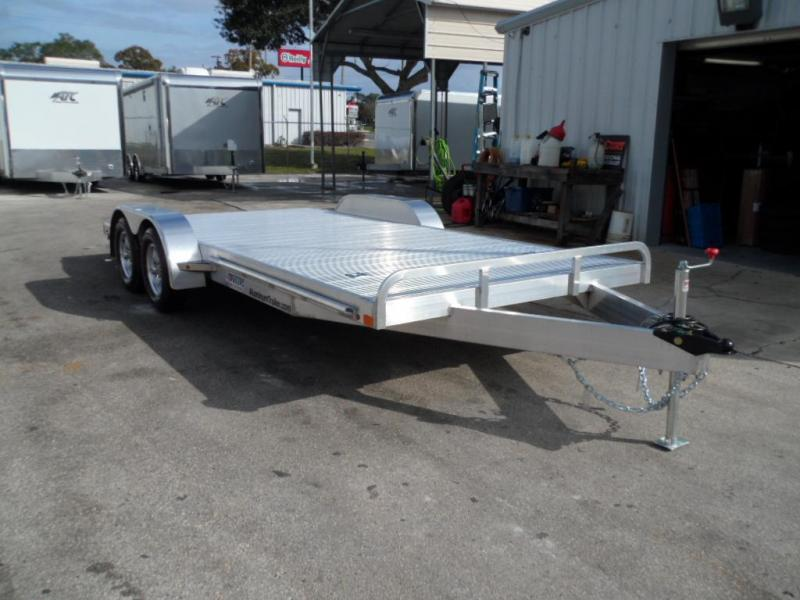 2018 18'  All Aluminum Car Hauler by ATC