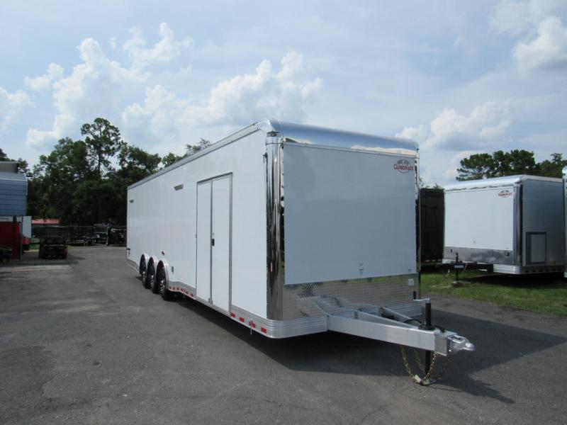 2019 Cargo Mate 8.5x34 Aluminum Frame Eliminator Car / Racing Trailer