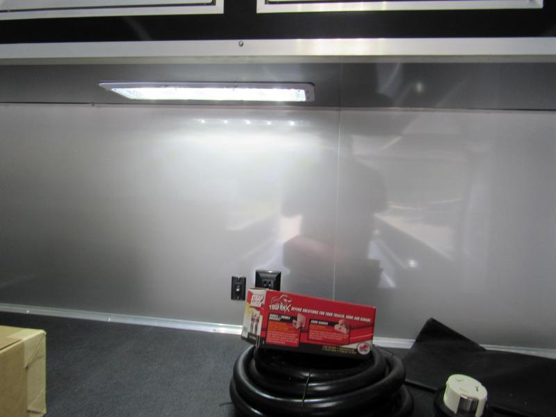 2019 Cargo Mate 8.5x34 Aluminum Frame Eliminator Car / Racing Trailer