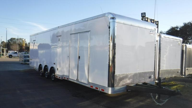 2018 32' Spread Axle Cargo Mate Eliminator Race Trailer