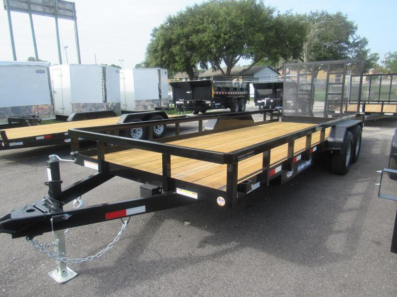 2020 7X20 HD Contractors Utility Trailer by Sure Trac