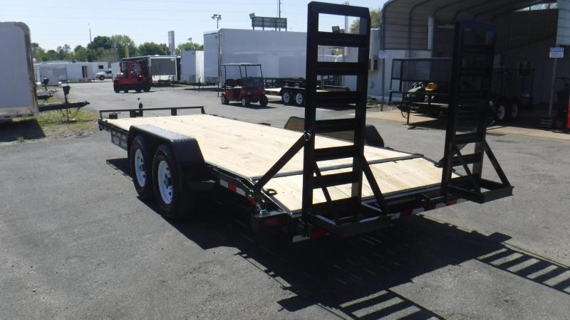 2018 7 Ton 20' Equipment Trailer by Sure Trac