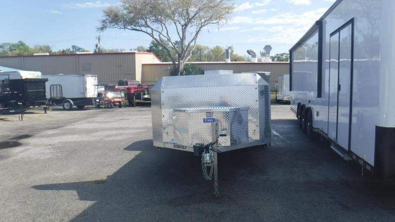 2016 Aluma 8220TILT Equipment Trailer