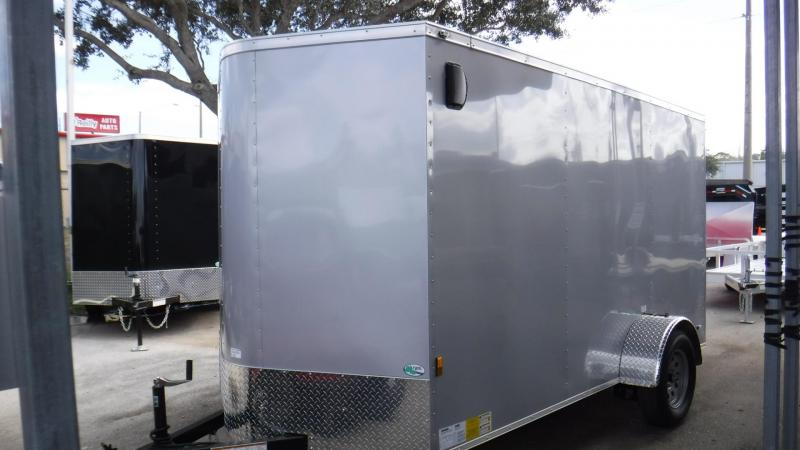2018 6x12  NS Series Enclosed Cargo Trailer by Continental argo
