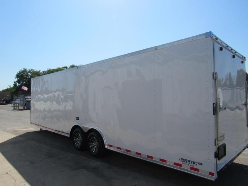 2020 Continental Cargo 28ft Finished Car / Racing Trailer