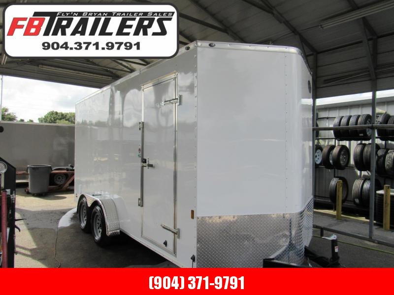 2020 Continental Cargo 7x16 with 12 inches additional Ht Enclosed Cargo Trailer