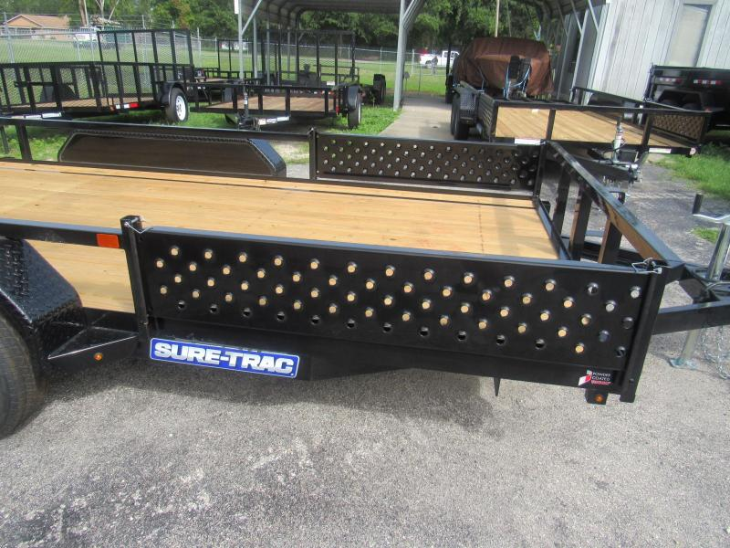 2020 Sure-Trac 7X14 Removable ATV Sides Utility Trailer