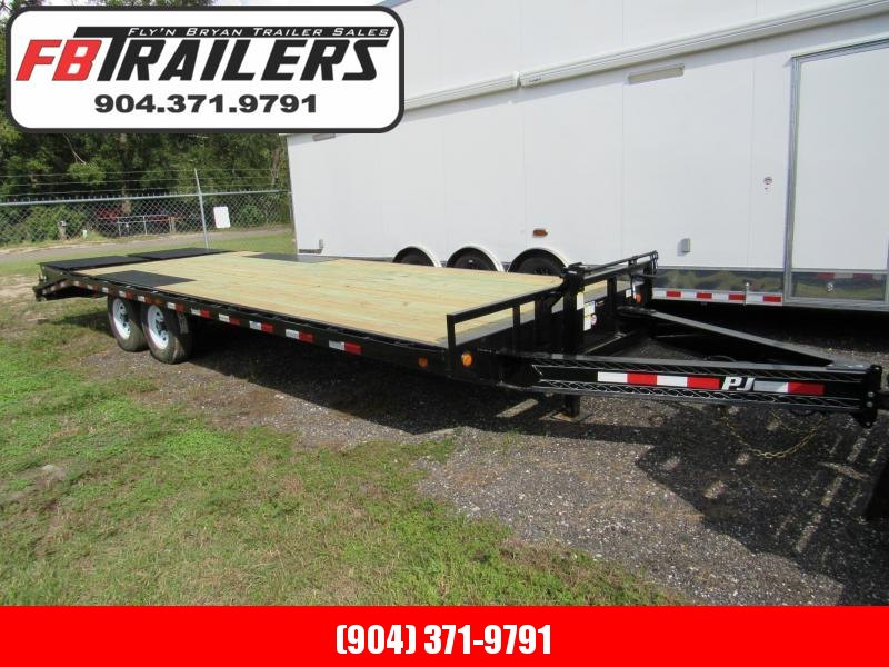 2019 PJ Trailers 24 ft Deckover Equipment Trailer