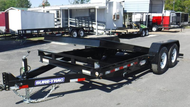 2018  18' Tilt Equipment Trailer by Sure Trac