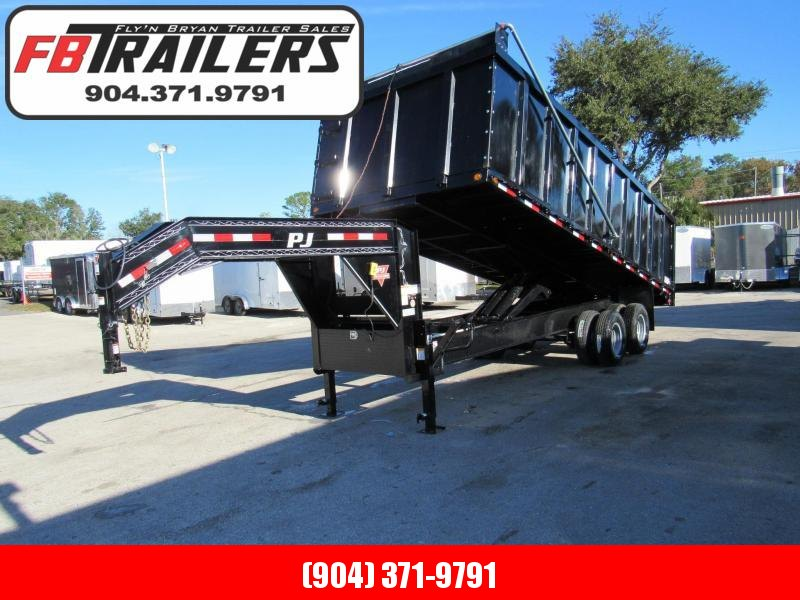 2019 PJ Trailers Dual Tandem 20ft Dump Trailer