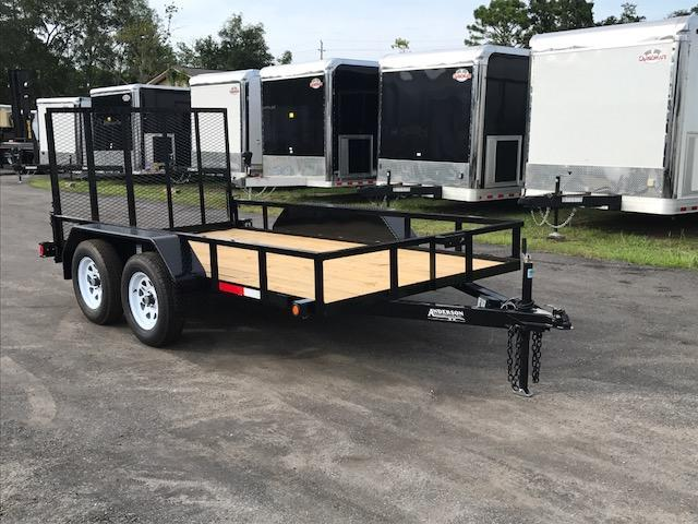 2017 6x12  LST Utility Trailer by Anderson Manufacturing