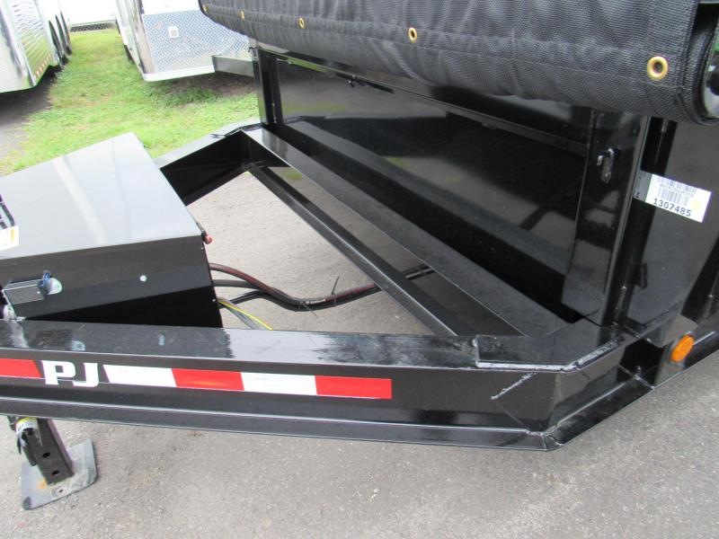 2019 PJ Trailers 14 with 2 Sides Dump Trailer