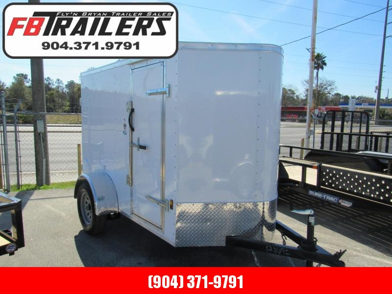 2019 Continental Cargo 5X8 With Cargo Doors Enclosed Cargo Trailer