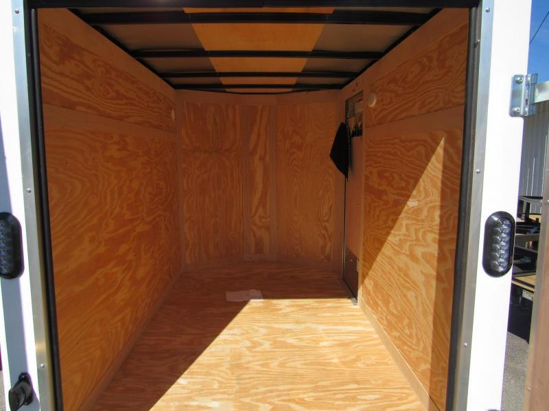 2019 Continental Cargo 5X8 With Cargo Doors Enclosed Cargo Trailer