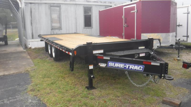 2018 Sure-Trac ST10222DOT2A-B-150 Equipment Trailer