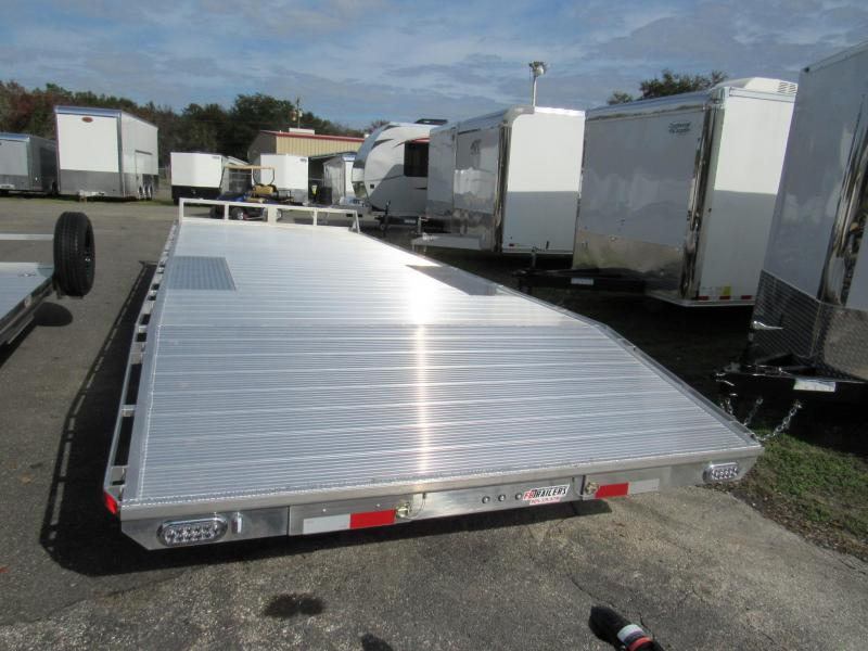2019 24 ft Deckover Equipment Trailer by Sundowner Trailers