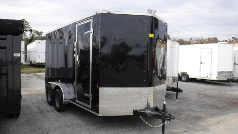 2018 7x14  Enclosed Cargo Trailer by Continental Cargo