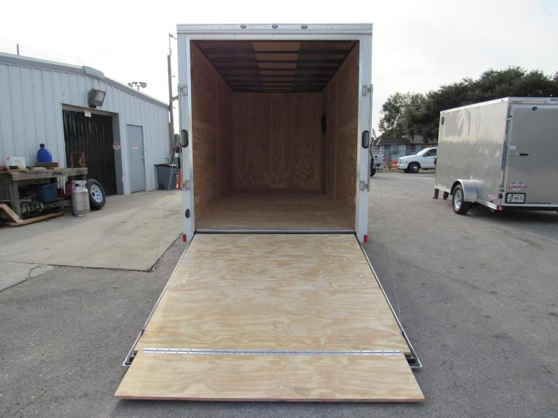 2019 Continental Cargo 7x16 with 12 inches Extra HT Enclosed Cargo Trailer