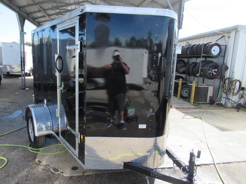 2019 Continental Cargo 5X8 DoubleDoors Enclosed Cargo Trailer