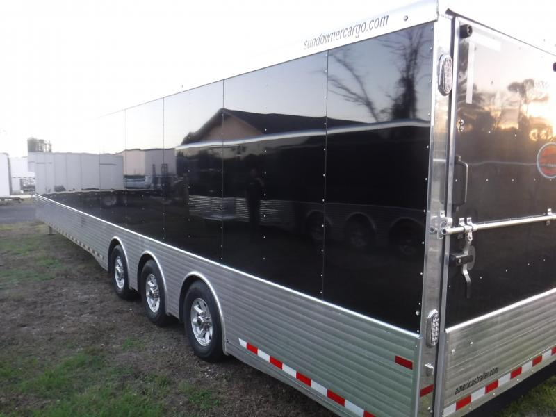 2017 48' XTRA Series Race Trailer by Sundowner Trailers