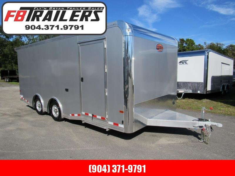 2019 20' Aluminum  Enclosed Car Hauler with Premium Escape