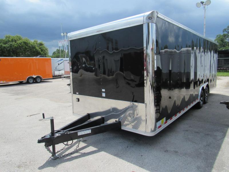2018 Cargo Mate GANS8.524TA3 Car / Racing Trailer