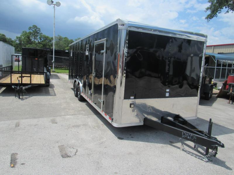 2018 24'  Enclosed Race Trailer  by Continental Cargo