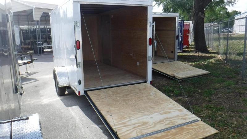 2018 6x12 Continental Cargo NS Series Enclosed Cargo Trailer