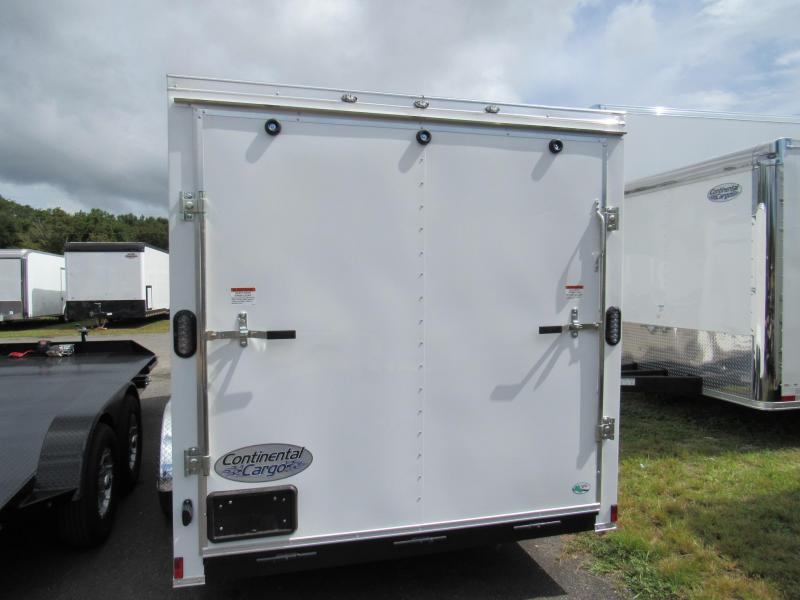 2020 Continental Cargo 16 Ramp Door Side Door Enclosed Cargo Trailer