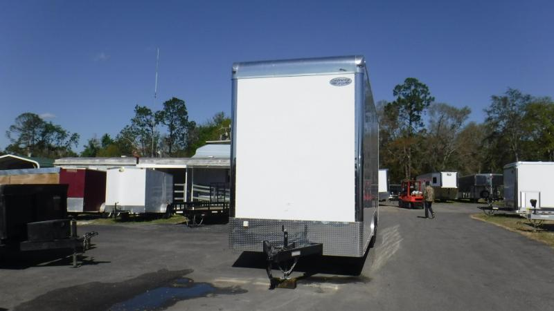 2019 28' Cargo Mate Race Eliminator Staker Race Trailer