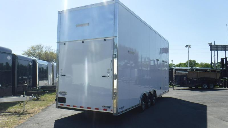 2019 28' Stacker Auto Master Race Trailer by Continental Cargo