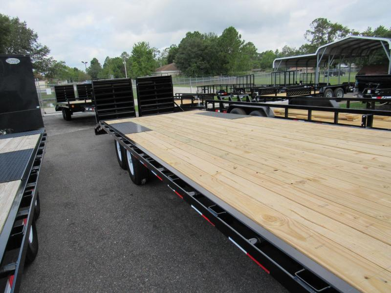2020 PJ Trailers 24' Deckover Equipment Trailer