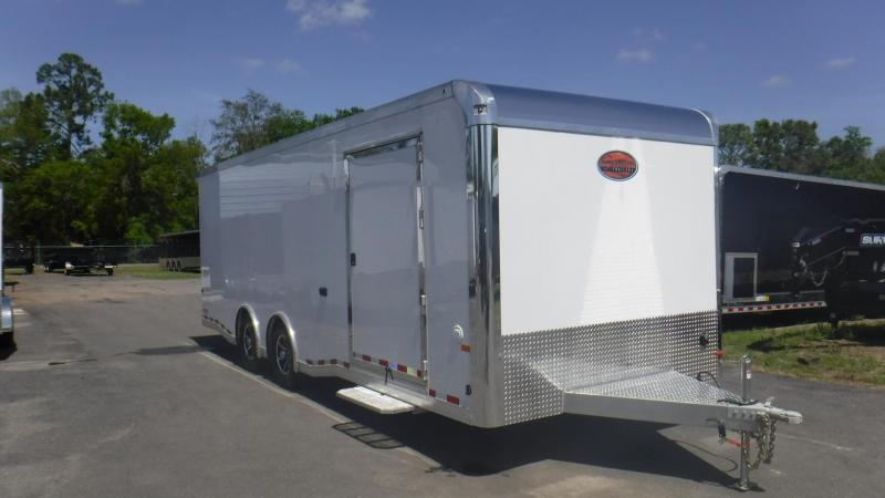 2019 24' All Aluminum Spread Axle Race Trailer by Sundowner Trailers