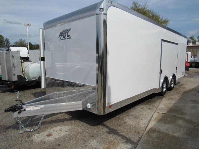 2019 24' ATC Quest 305 PREMIUM ESCAPE DOOR (Only Weights 3347 Lbs)