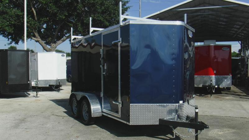 2018 6x12 Tandom  Enclosed Cargo Trailer