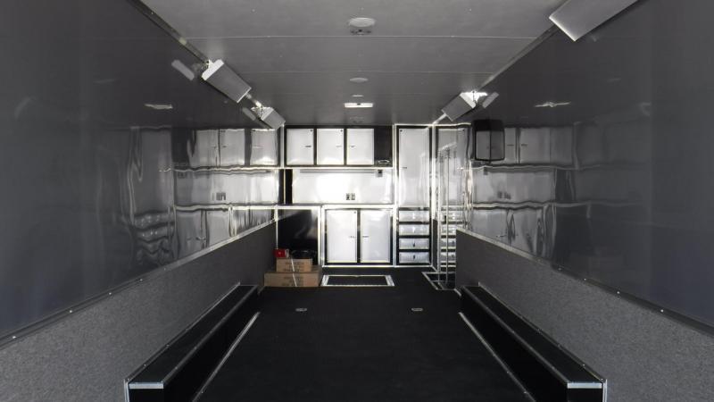 2017 32'  Spread Axle Cargo Mate Eliminator  Race Trailer