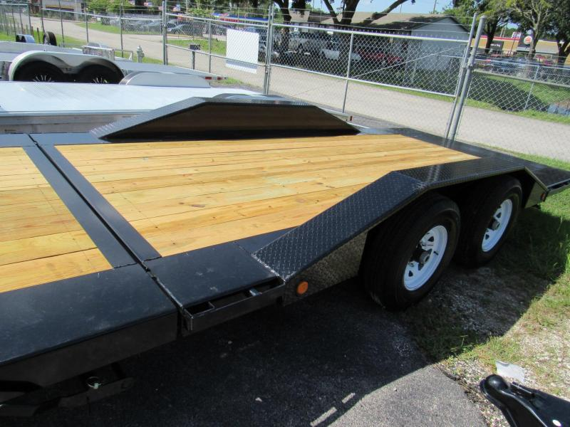 "2019 PJ Trailers 22' x 6"" Channel Super-Wide Tilt Trailer"