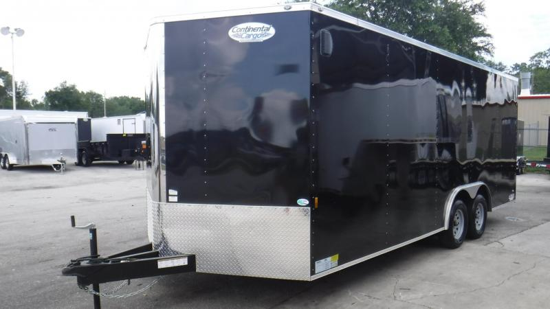 2018 8.5x20TA3 Enclosed  Race Trailer by Continental Carg